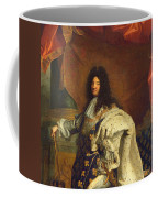 Louis Xiv In Royal Costume, 1701 Oil On Canvas Detail Of 59867 Coffee Mug
