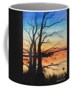 Louisiana Lacassine Nwr Treescape Coffee Mug
