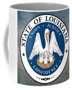 Louisiana State Seal Coffee Mug