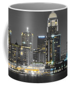 Louisville Lights Up Coffee Mug