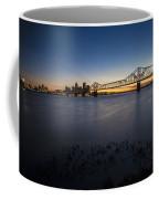 Louisville Skyline At Dusk Coffee Mug