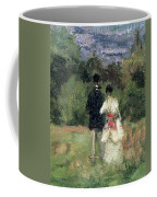 Louveciennes, Detail Of Lovers Coffee Mug
