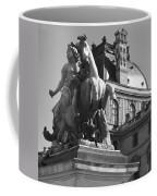 Louvre Man On Horse Coffee Mug