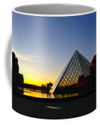 Louvre's Last Light Coffee Mug