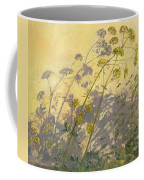 Lovage Clematis And Shadows Coffee Mug by Timothy  Easton