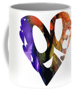 Love 1 - Heart Hearts Romantic Art Coffee Mug