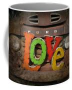 Love And A Ford Truck Coffee Mug