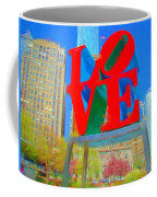 Love And Cherry Blossoms Coffee Mug