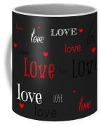 Love And Hearts Coffee Mug
