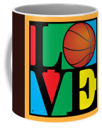 Love Basketball Coffee Mug