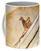 Love Birds On My Balcony Coffee Mug