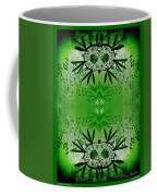 Love Blossom Nature Green Border Coffee Mug