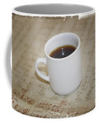 Love Coffee And Music Coffee Mug by Nina Prommer