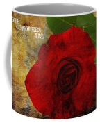 Love Conquers All Coffee Mug