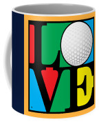 Love Golf Coffee Mug
