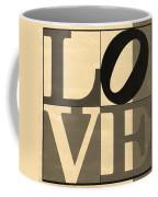Love In Sepia Coffee Mug