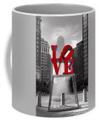 Love Isn't Always Black And White Coffee Mug by Paul Ward