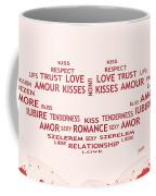 Love Kiss Digital Art Coffee Mug