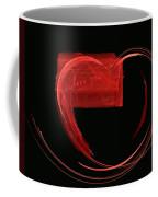 Love Letter Fine Fractal Art Coffee Mug by Georgeta  Blanaru