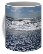 Love Letters In The Sand Coffee Mug