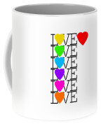 Love Love Love Coffee Mug