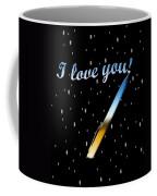 Love Message Digital Painting Coffee Mug