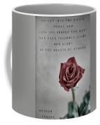 Love Mother Teresa Coffee Mug