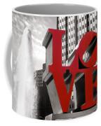 Love Coffee Mug by Olivier Le Queinec