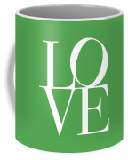 Love On Green Coffee Mug