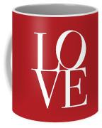 Love On Red Coffee Mug