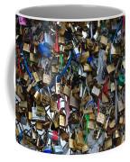 Love Padlocks On Pont Des Art Coffee Mug