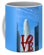 Love Park Coffee Mug by Olivier Le Queinec