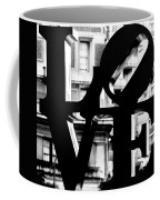 Love Philadelphia Black And White  Coffee Mug