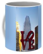 Love Statue In Philadelphia Pa Coffee Mug