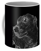 Love The Concern Pet Dog Rendering Coffee Mug