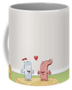 Love Thy Cocktail Coffee Mug by Gianfranco Weiss