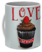Love Valentine Cupcake Coffee Mug