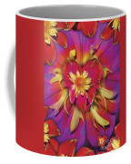 Loveflower Orangered Coffee Mug