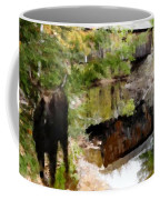 Lovejoy Covered Bridge And Moose Coffee Mug