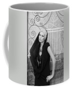 Lovely Bw Liberace Home Palm Springs Coffee Mug by William Dey