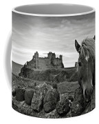 Lovely Horse And Tantallon Castle Coffee Mug