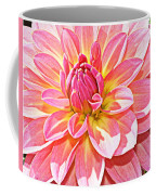 Lovely In Pink - Dahlia Coffee Mug