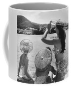 Lovely Ladies In Cha Cha Hats Coffee Mug