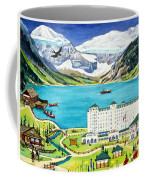 Lovely Lake Louise Coffee Mug
