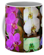Lovely Orchids - A Collage Coffee Mug