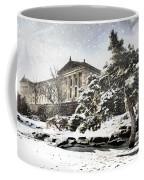 Lovely Snow On The Museum Coffee Mug