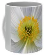 Lovely White Flower Square Coffee Mug