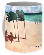Lovers On The Beach Coffee Mug