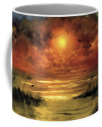 Lovers Sunset Coffee Mug