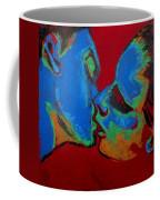 Lovers - Tender Kiss Coffee Mug